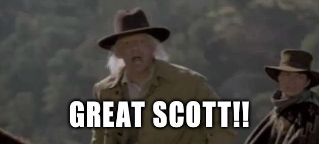 great scott doc brown bttf 3