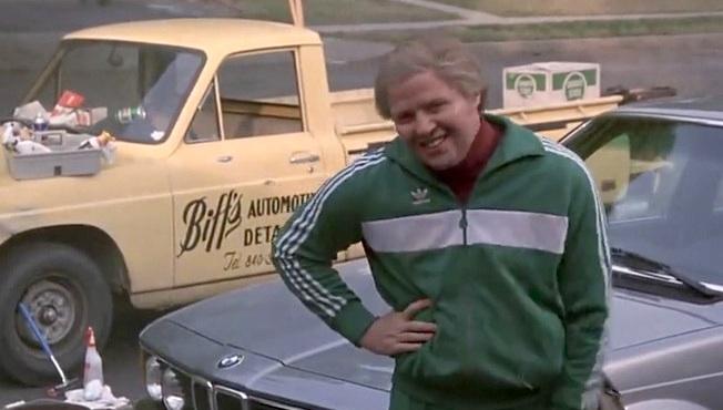 nice biff tannen back future car
