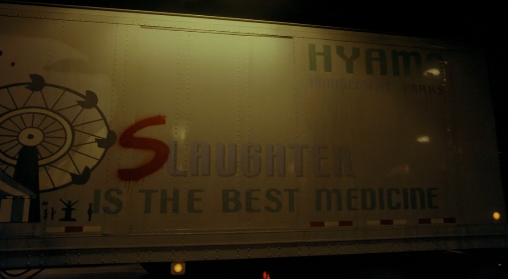 Dark Knight slaughter is the best medicine truck