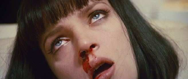 mia wallace pulp fiction overdose heroin