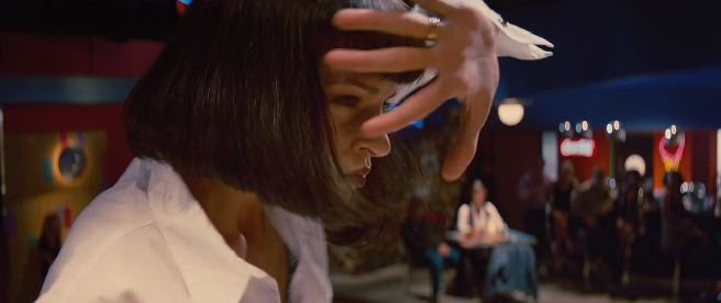 mia wallace batdance pulp fiction