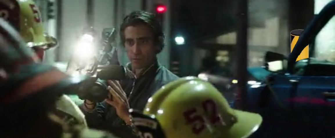 nightcrawler van crash
