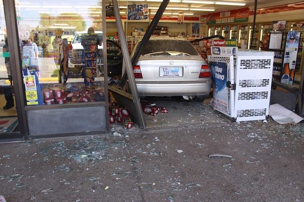 bollard crash