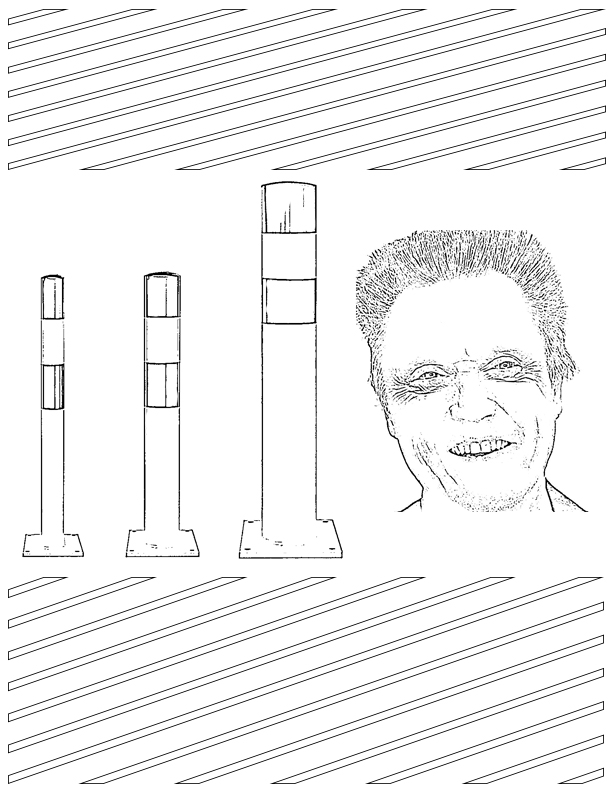bollard Christopher walken
